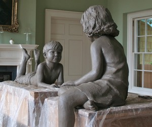 Bronze sculpture by brian alabaster