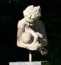 sculpture of feeding mother