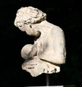 sculpture of mother and baby